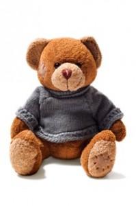 בובת דובי ישנה